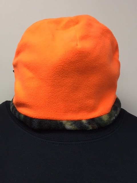 Reversible Mossy Oak Fleece Beanie