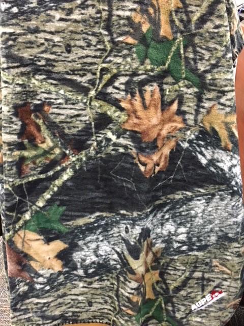 Mossy Oak Fleece Blanket