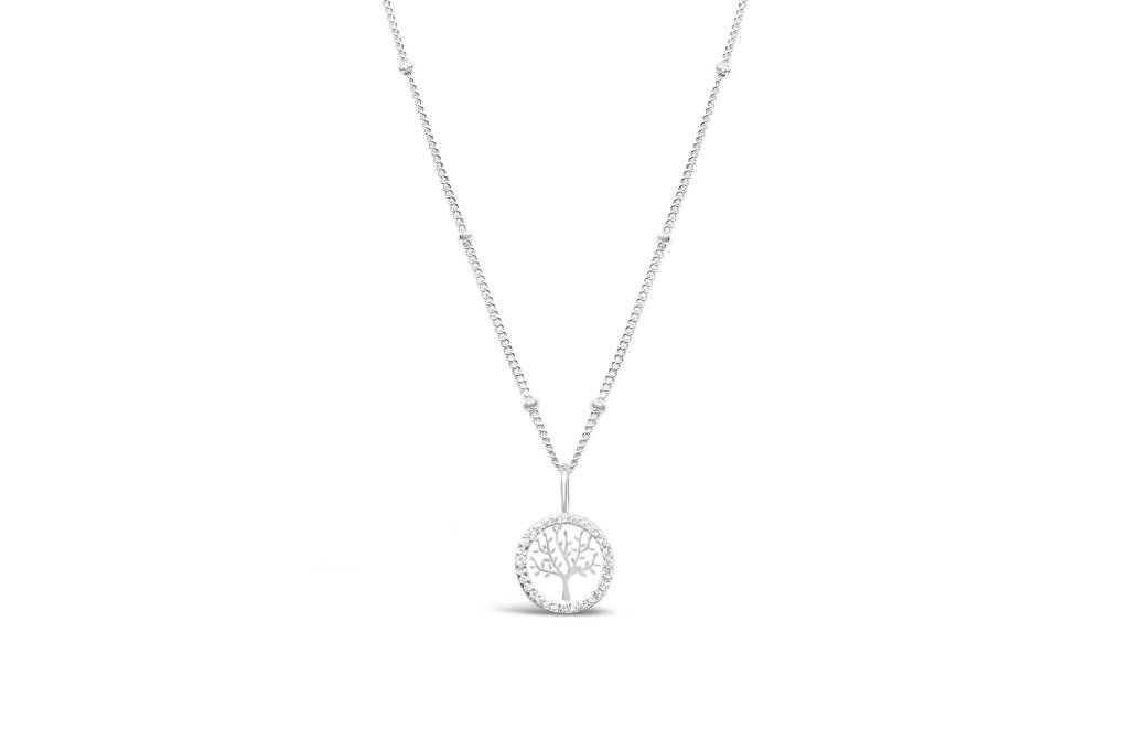 Stia Stia Tree of Life Sterling Necklace