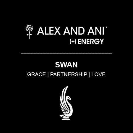 Alex and Ani Alex and Ani Swan EWB Rafaelian Gold FInish