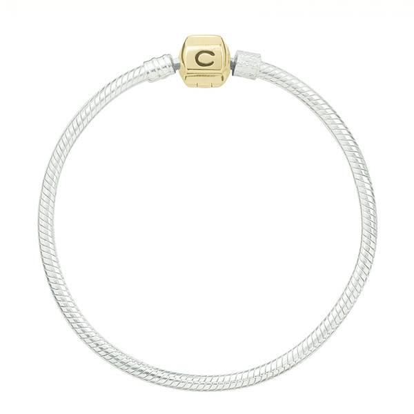 Chamilia Chamilia (19.1 cm/ 7.5 in) Gold Clasp/ Silver Snap Bracelet