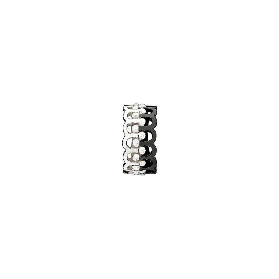 Chamilia Chamilia Sterling Silver - Garden Arches Black and White