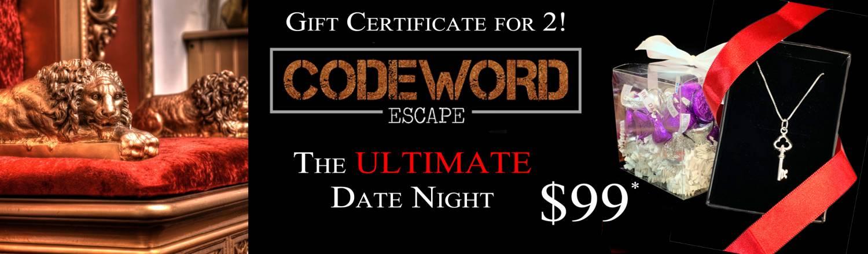 Codeword Escape Vday!
