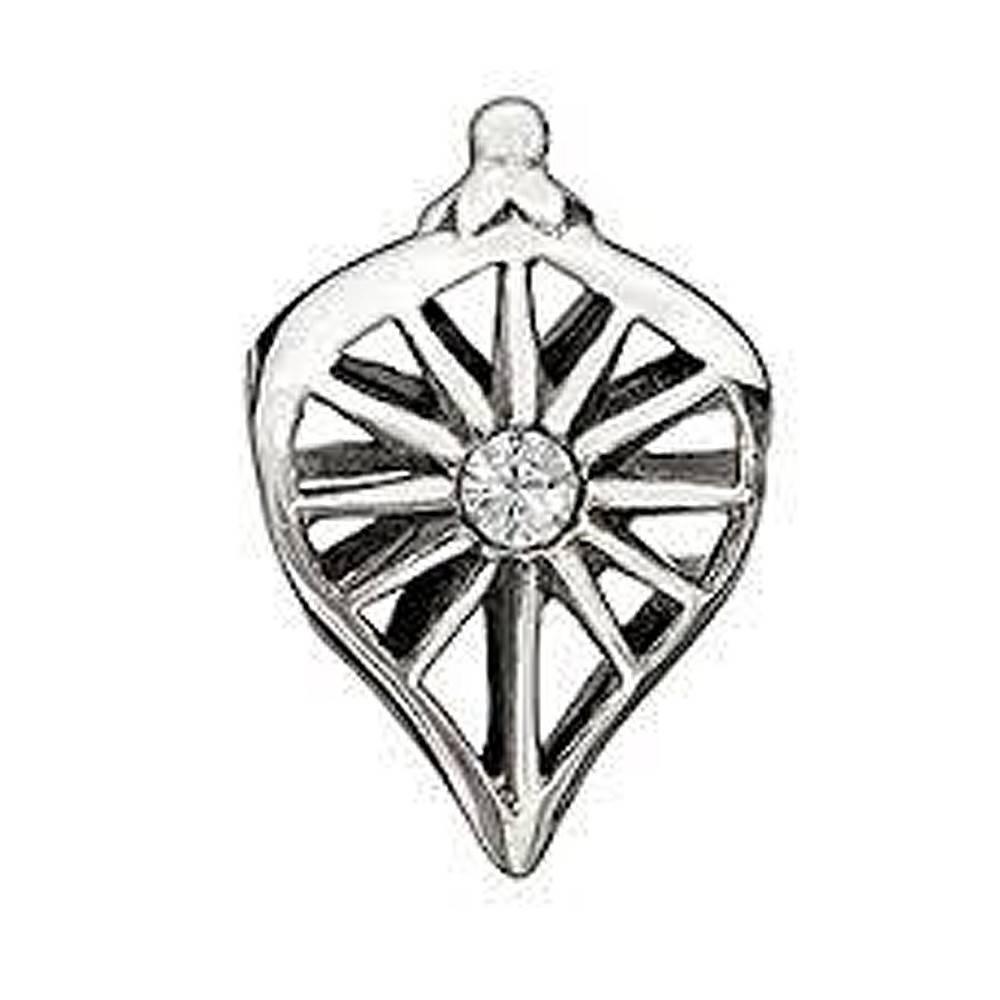 Chamilia Chamilia Holiday Ornament Bead with clear crystal