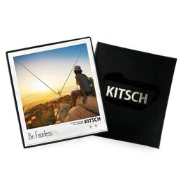 Kitsch Kitsch-Bow & Arrow Fearless Gold Set of Necklace & Earrings