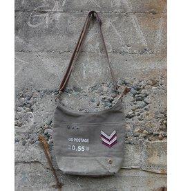 Chloe & Lex Crossbody Bag-Canvas US Postage