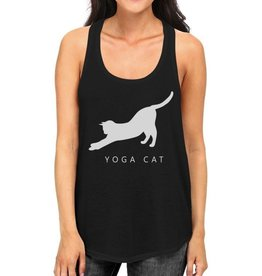 TSF Design Tank Top - Yoga Cat