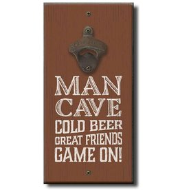 My Word Signs Bottle Opener-MAN CAVE