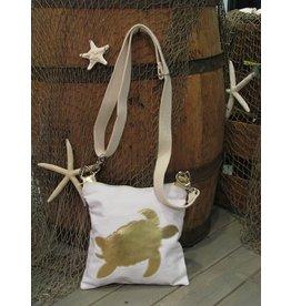 Crossbody Bag-Sea Turtle-Gold