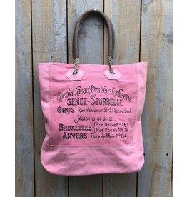 Chloe & Lex Tote-Pink Chocolat Confiserie Bag