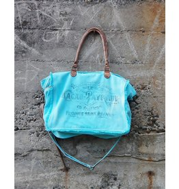 Chloe & Lex Weekender-French Turquoise Bag