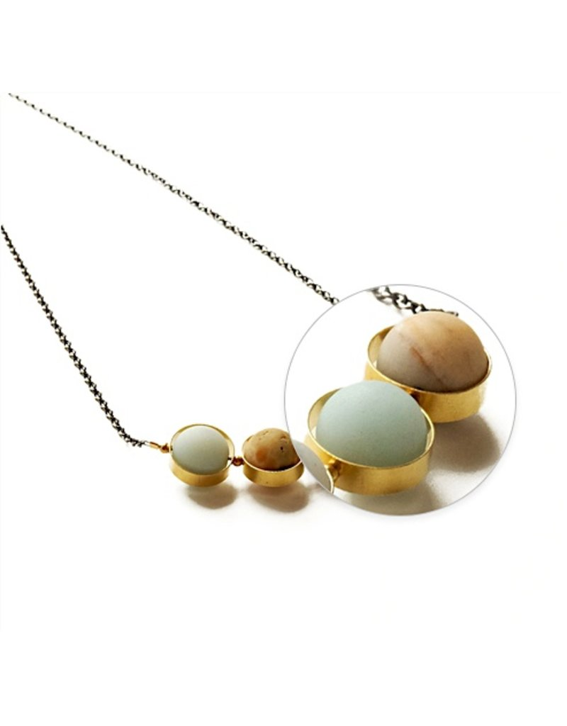Larissa Loden Necklace-Alignment, AMAZONITE