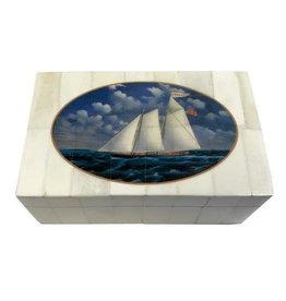 "White Bone Box 5.25"" -Print ""USS America"""