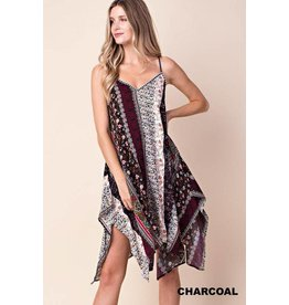 Kori Dress-Boho Printed Sundress