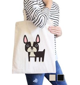 TSF Design Tote - Boston Terrier Canvas Bag
