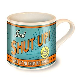 Trixie & Milo Mug-Shut Up!