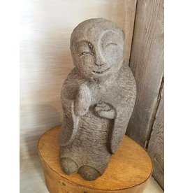 My Spirit Garden Guiding JIZO-Antique Brown
