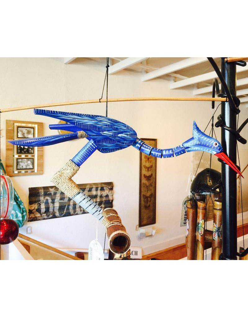 Cohasset Happy (Blue) Bobbing Head BB Wind Chime