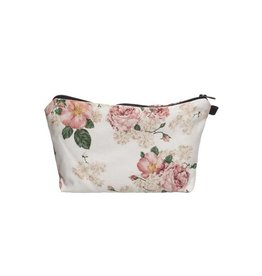 Make Up Bag-Digital Powder Pink Roses
