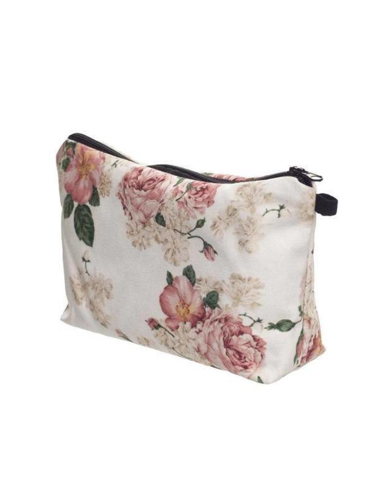 Make Up Bag-Digital Powder Pink Roses