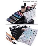 Make Up Bag-Hologram Triangle