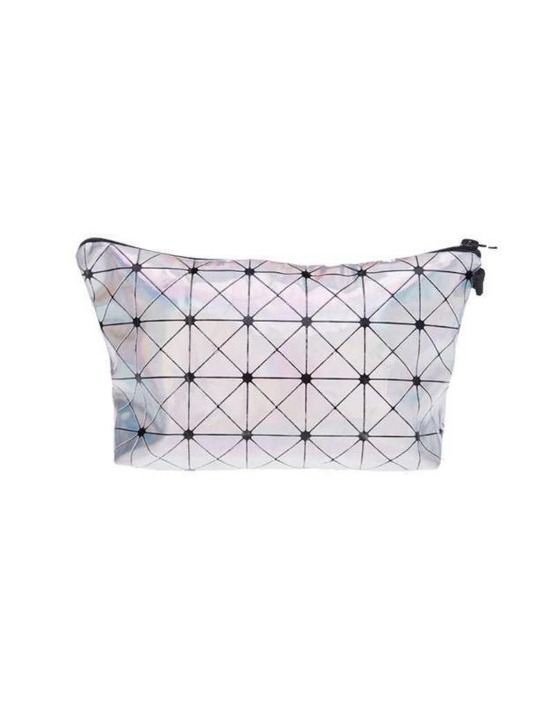 Make Up Bag-Hologram Triangle