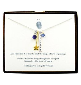 BU Jewelry BU-Inspirational Necklace-'Magic of New Beginnings'