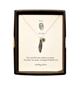 BU Jewelry BU-Inspirational Necklace-'You can become what you want'