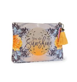 Papaya Art Pouch, Large Tassel -SUNSHINE