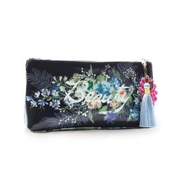 Papaya Art Pouch, Small Tassel -BEAUTY BOUQUET
