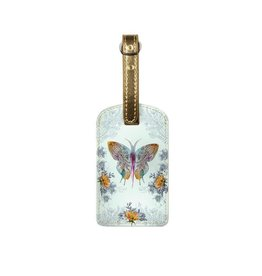 Papaya Art Luggage Tag -PAISLEY BUTTERFLY