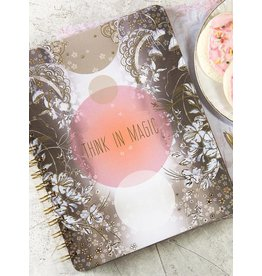 Papaya Art Notebook -THINK IN MAGIC