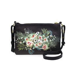 Papaya Art Crossbody -BEAUTY BOUQUET