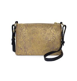 Papaya Art Crossbody -PAISLEY GOLD