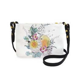 Papaya Art Crossbody -SUNRISE PETALS