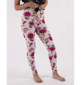 Boutique Only Leggings-Full Leg Yoga Secret Garden