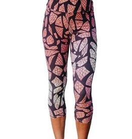 Boutique Only Leggings-Capri Yoga Lucid Dream Geometric