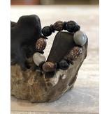 Ecuador Crafts Bracelet, Cabalonga, Palmito, Coco & Tagua Seeds