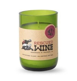 Rescued Wine Candle 12oz-Rosé