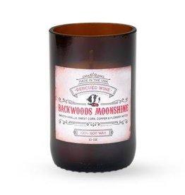 Rescued Wine Candle 8oz-Backwoods Moonshine