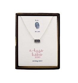 BU Jewelry Necklace-BU HUGS & KISSES