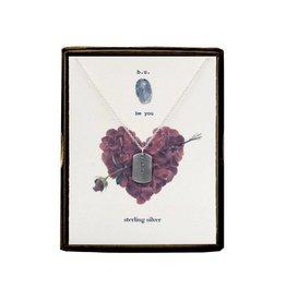 BU Jewelry Necklace-BU LOVE HEART & FLOWERS