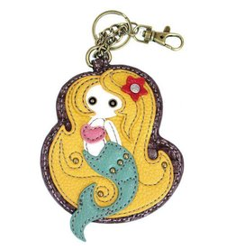 Chala Bags Key Fob, Coin Purse-Mermaid