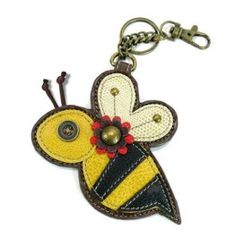 Chala Bags Key Fob, Coin Purse-BEE