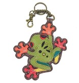 Chala Bags Key Fob, Coin Purse-Frog