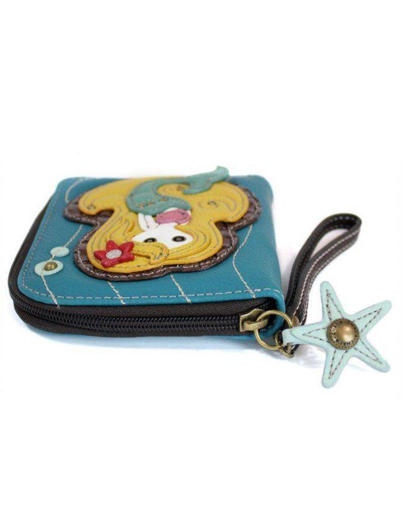 Chala Bags Wallet-Zip Around-Mermaid