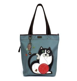 Chala Bags Tote-Everyday Zip II-Fat Cat