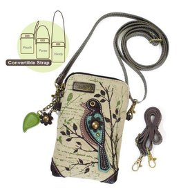 Chala Bags Crossbody-Cell Phone Bag-Safari Bird