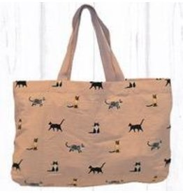 Art Studio Company Tote Travel Shopper-Multi CAT (Pink)