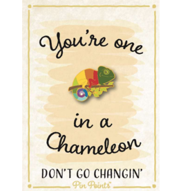 My Word Signs Pin Point-You're One in a Million - CHAMELEON